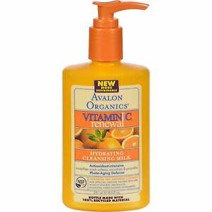 Avalon Organics Intense Defense Cleansing Milk, 8.5 oz.