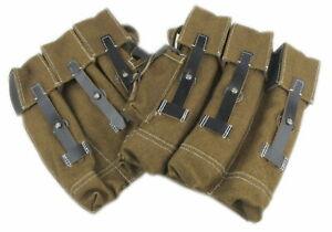 Wehrmacht Luftwaffe Polizei Taschen Modell 44 Mag Pouch 44 Webleine Softfair
