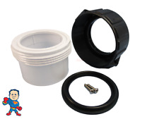 "Hot Tub Spa 2"" Split Nut & Union Kit for Heater Union with Gasket Video How To"