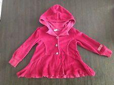 Naartjie Kids Girls Burgundy Buttonup Jacket 2T