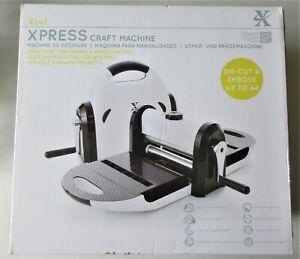 XCut XPRESS Craft Machine Printing Cutting Papercrafts Die-Cut & Emboss New