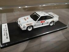 Opel manta 400 1/43 Fischer rally of the lakes 1987.realisation artisanale