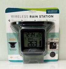 New listing 724-1409 La Crosse Technology Digital Rain Gauge with Indoor Temperature Tx141R
