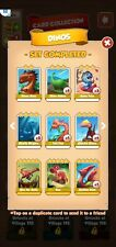 coin master dinos set all 6 cards