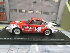 PORSCHE 911 SC/RS Rallye Haspengouw #5 Droogmans Belga 1985 1/300 li Spark 1:43