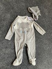 Baby Boy Sleepsuit With Hat 9-12 Months