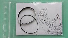 Riemen Nakamichi BX-1 Kassettendeck Cassette Tape Deck Courroie Rubber Belt-Kit