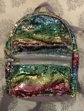 More Than Magic Girls Sequin Mini Backpack/rainbow color