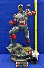 1/4 Iron Man III Iron Patriot Maquette Exclusive Sideshow Used JC