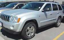 Jeep Grand Cherokee 2005 - 2010 Wind Deflectors In-Channel