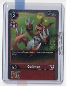 Guilmon P-041 Promo Rare Dash Pack BT6 Double Diamond Digimon Card Game