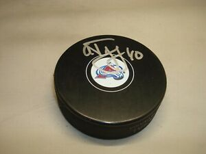 Alex Tanguay Signed Colorado Avalanche Hockey Puck Autographed 1A