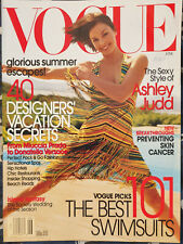 Clippings cuttings - ASHLEY JUDD - vogue Cover story - S-116