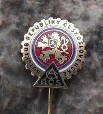 Vintage Czechoslovakia Czech AAA Association Car Owners Drivers Club Pin Badge