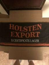 Bar Towel, Holsten Export, Xcertificate Lager, Beautiful Towel, Great Addition!