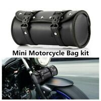 Universal Release Seat Pouch PU Leather Bike Saddle Bag Motorcycle Tool Bags-