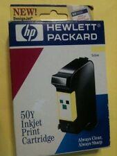 HP 50 inktcartridge  inktpatroon Yellow HP50y / 51650y