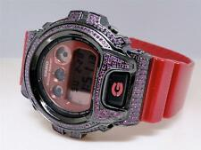 Casio G Shock Jojo Joe Rodeo Aqua Master Pink Simulated Diamond Watch