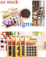 5x Self Adhesive Table Chair Furniture Leg Pad Protector Cushion Trimming Mat
