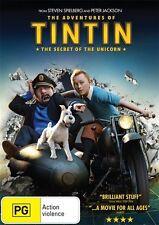 Adventures of TINTIN: THE SECRET OF THE UNICORN = region 4 DVD