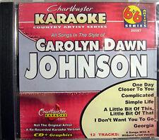 Chartbuster Karaoke Artist Series - CB20587 CDG (Carolyn Dawn Johnson)