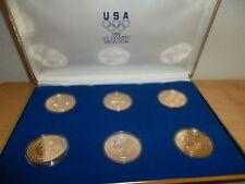 LIMITED EDITION SET 1988 US OLYMPIC TEAM MEDALLIONS BY ARTIST A. HOFMANN