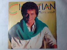 """CHRISTIAN Notte serena 7"""" FESTIVAL DI SANREMO 1985"""