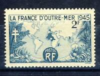TIMBRE FRANCE NEUF N° 741 **  LA FRANCE D'OUTREMER