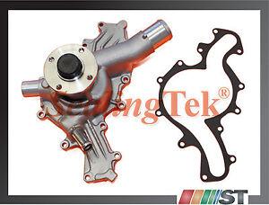 Fit 1997-11 Ford 4.0L SOHC V6 Engine New Cooling Water Pump w/ Gasket VIN E,K,N