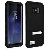 Coque Galaxy S8 Housse étanche waterproof Intégrale IP68 6m de profondeur noir