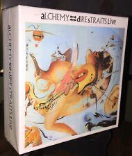 DIRE STRAITS- Alchemy Live, Empty Japan PROMO Disk Union Box For MINI LP CDs