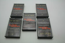 Mozart The Middle Symphonies Time Life  5 cassettes Only Rare Find