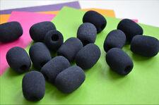 5x High Density small foam Windscreen covers for lavalier lapel microphone 25mm