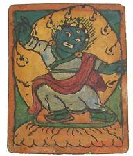 Tsakli Vajrapani-pintura iniciación Thangka tibetano Mongolia Tíbet- 1475