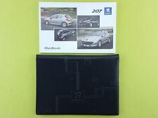 PEUGEOT 207 Hatchback (2005 - 2009) Owners Manual / Handbook + Case / Wallet