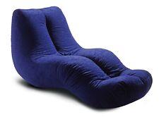 BLUE lounger bean bag