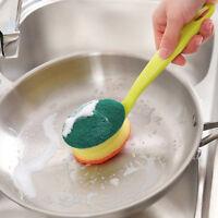 Multifunction Kitchen Cleaning Brush Long Handle Dish Washing Brush