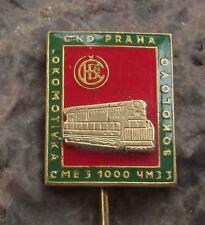 ChME3 Diesel Locomotive Czech Railway Train Engine CKD 1000 Units Pin Badge