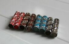 8 Trippy hippy psychodelic beads for dreadlocks - dreadlock accessory