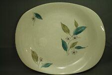 "vintage 14"" serving platter The Paden City Pottery USA Biscayne mid century"