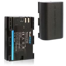 2x Blumax Akku für Canon LP-E6 mit Infochip EOS 70D 60D 60Da 7D 5D Mark II 6D