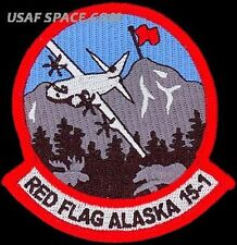 USAF 41st AIRLIFT SQUADRON - RED FLAG ALASKA 2015-1 - ORIGINAL AIR FORCE PATCH