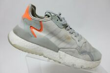 ADIDAS Nite Jogger Grey Sz 9 Men Running Shoes