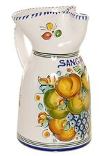 """Fruta"" Style Sangria Pitcher - 10"" Tall"