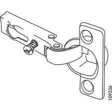 Ikea Genuine Furniture Replacement Part 109336 Metal Hinge Silver FREE USA SHIP!