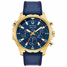Bulova 97B168 Marine Star Chronograph Men's Watch - Blue