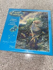 Ferry to Fairyland Glitters & Glows Josephine Wall 750 Jigsaw Puzzle NEW SEALED
