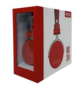WESC M30 On-Ear Kopfhörer Wired Headphones kabelgebunden Orange