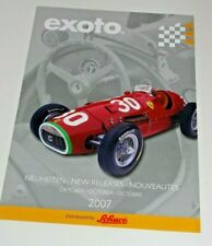 EXOTO 1/18 MODEL CAR CATALOGUE 2007
