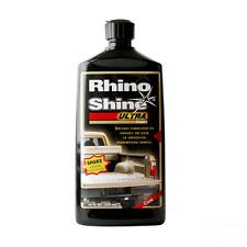 RHINO LININGS SHINE ULTRA BLACK 41001 pint. Spray on bed liner restore or renew.
